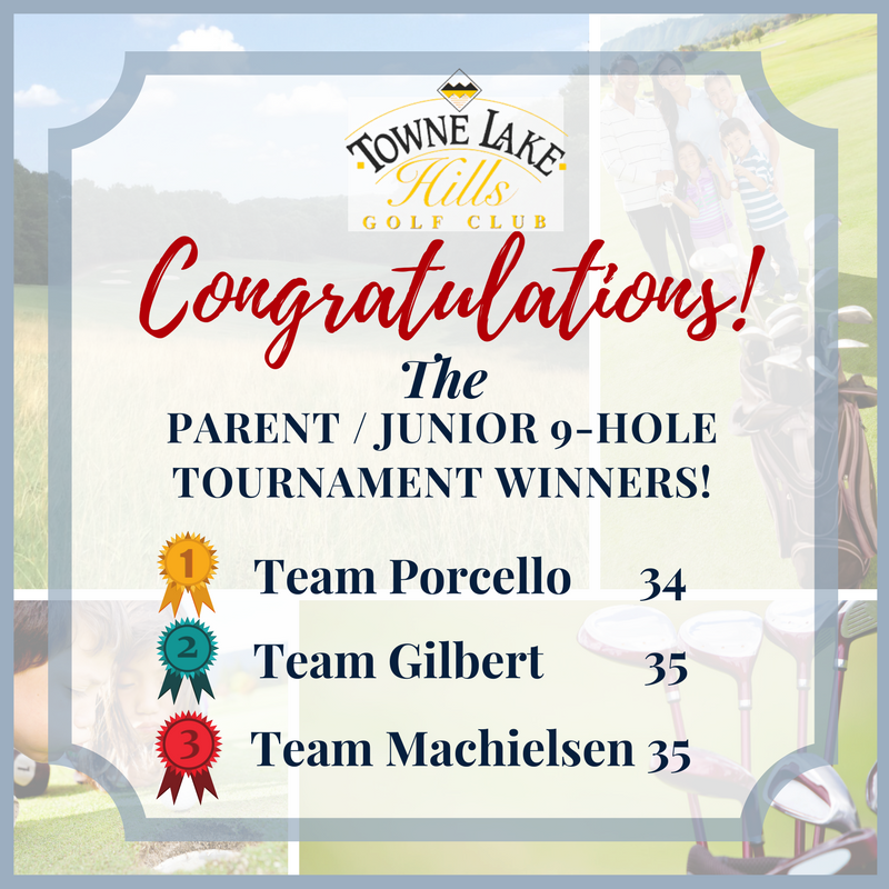 Towne Lake Hills - Parent - Junior 9-Hole Tournament